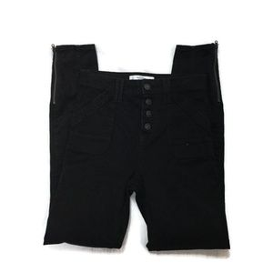 ABERCROMBIE & FITCH Black high rise skinny jeans